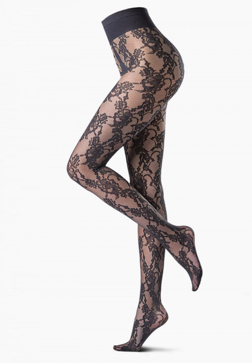 Eden Rose lacy tights