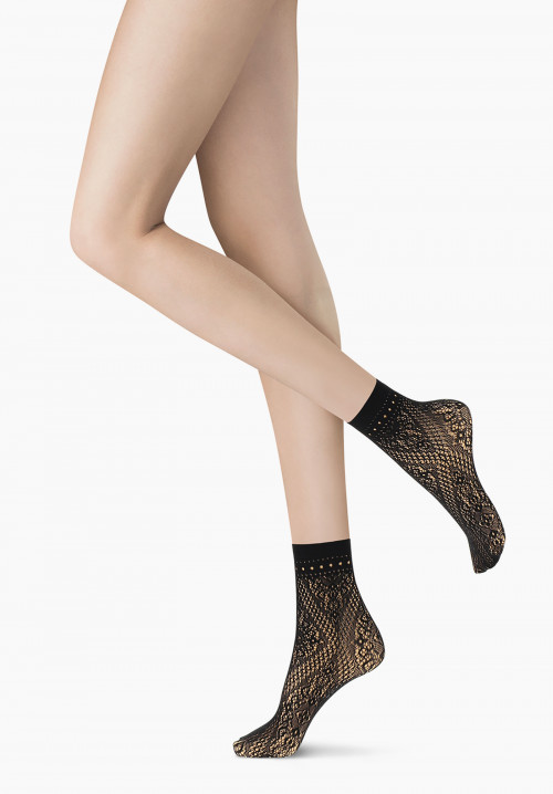 Mixed Net fishnet socks - BIPACK