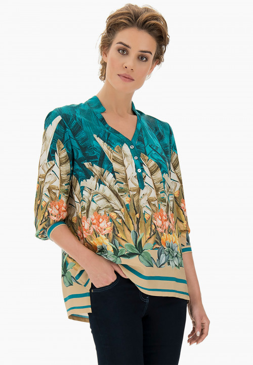 Garden patterned Blouse